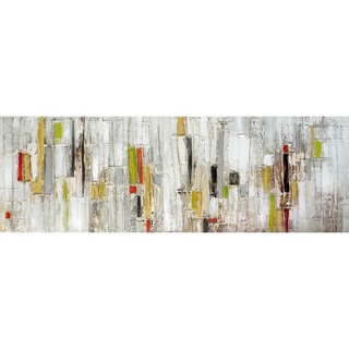 Abstract Stripes Panoramic Acrylic Canvas Art