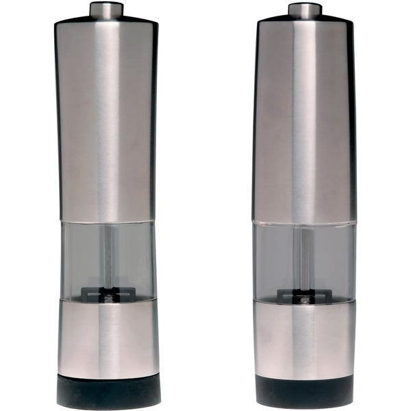 Geminis Electronic Salt and Pepper Mill 2-piece Set