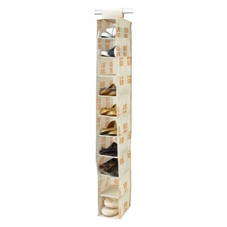 SedaFrance Cameo Key Cream 10-shelf Shoe Organizer