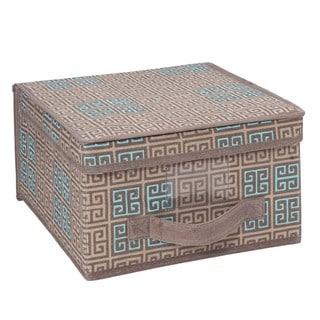 SedaFrance Medium Cameo Key Taupe Storage Box