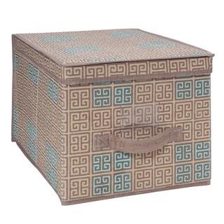 SedaFrance Large Cameo Key Taupe Storage Box