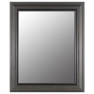 Pewter Bevel Mirror