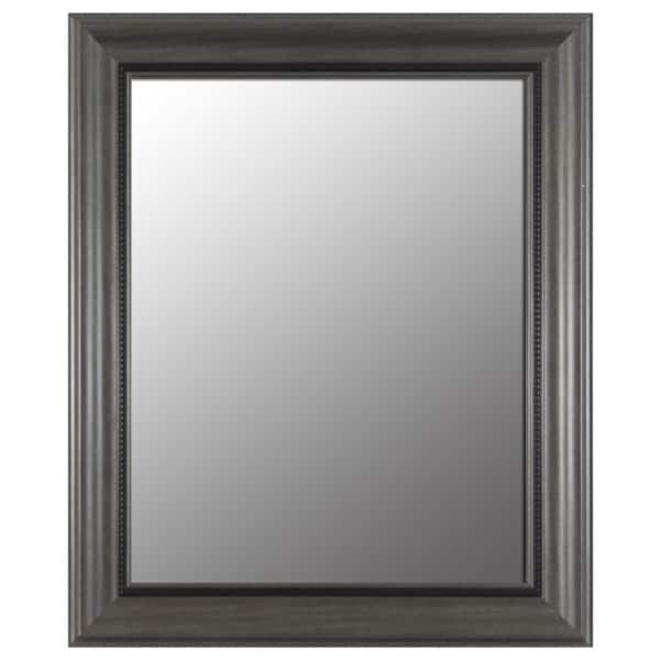 Pewter Bevel Mirror