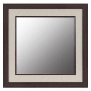 Linen Square Mirror
