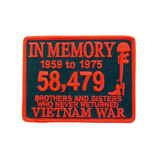 Overstock.com Embroidered Vietnam War In Memory Patch at Sears.com