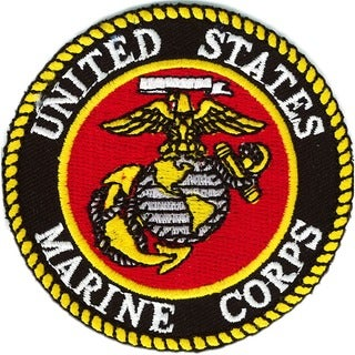 US Marine Corps Extra Small Embroidered Patch
