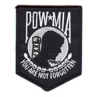 POW MIA 'You Are Not Forgotten' Small Patch