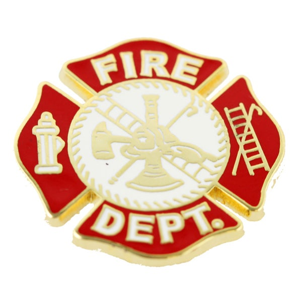 Fire Department Pin