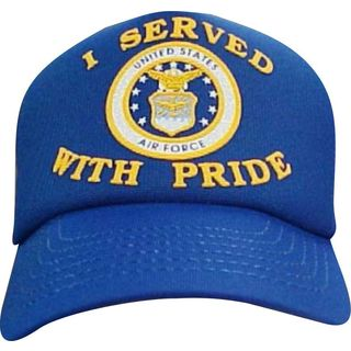US Air Force I Served With Pride Baseball Cap