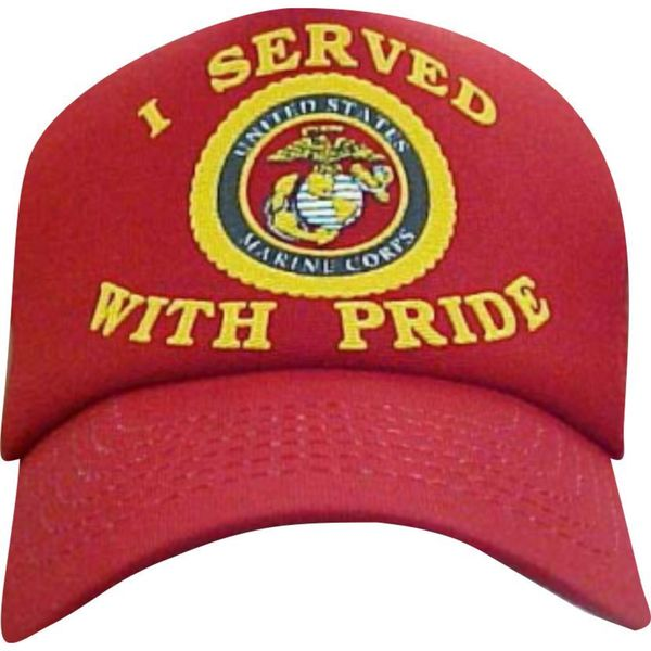 I Served With Pride US Marines Cap