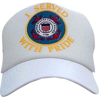 US Coast I Served With Pride Guard Cap