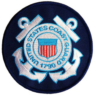 US Coast Guard Small Embroidered Patch