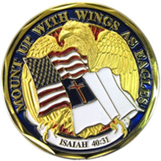 Mount Up With Wings As Eagles Challenge Coin