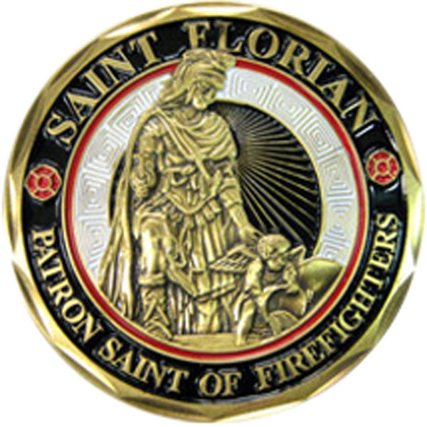 Saint Florian Fire Department Coin