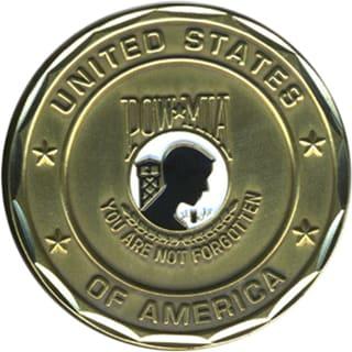 POW MIA You Are Not Forgotten Coin
