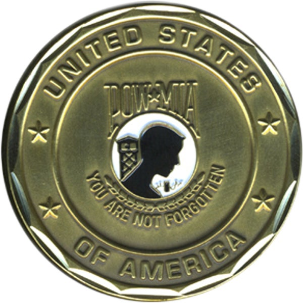 POW MIA You Are Not Forgotten Coin