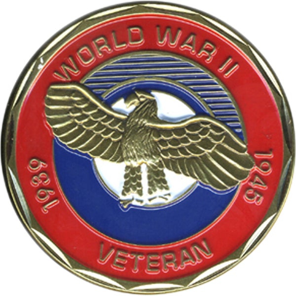 World War II Veteran Coin