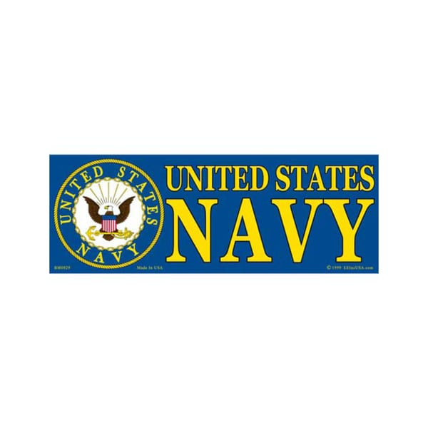 US Navy Bumper Sticker