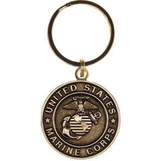 United States Bronze Marine Corps Keychain