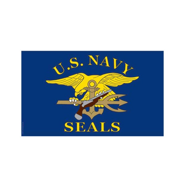 United States Navy Seals Flag