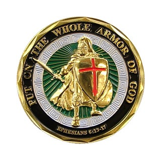 Armor of God Commemorative Coin