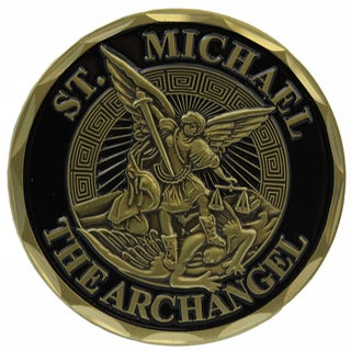 St. Michael The Archangel Infantry Challenge Coin