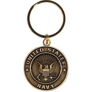 United States Bronze Navy Keychain