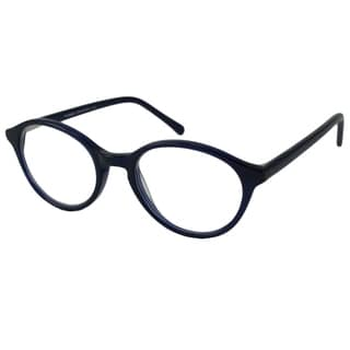 V Optique Men's/ Unisex V081156 Oval Reading Glasses