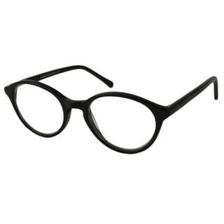 V Optique Men's/ Unisex V081156 Oval Reading Glasses
