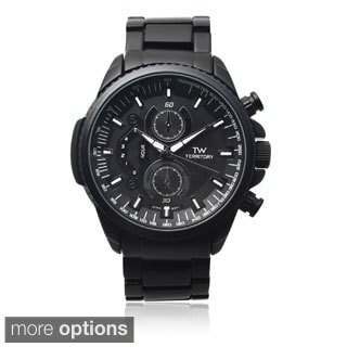 Territory Men's TW-29274 Round Dial Link Watch