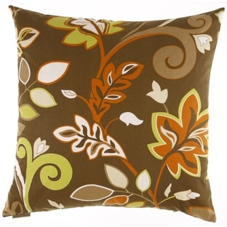 Charisma Transitional Feather Filled 24-inch Throw Pillow