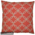 Tanjib Embroidered Feather Filled Throw Pillow