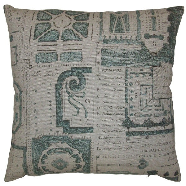 Jardin Feather Filled Throw Pillow