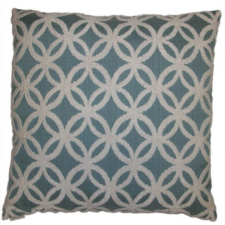 Circumvent Feather Filled Throw Pillow
