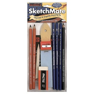 SketchMate Charcoal & Graphite Drawing Kit