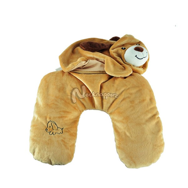 Buddy the Dog Necknapperz Plush and Pillow