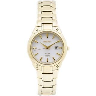 Seiko Women's SUT142 Classic Goldtone Watch