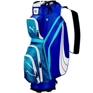 Puma 2014 Form Stripe Cart Golf Bag Monaco Blue-Blue Astor