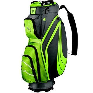 Puma 2014 Form Stripe Cart Golf Bag Lime Green