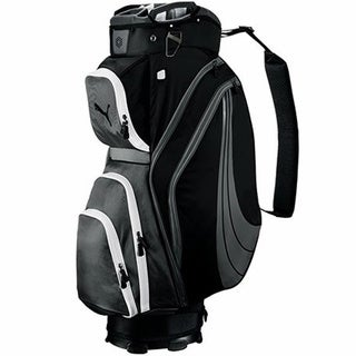Cobra/ Puma Form Stripe Black Cart Golf Bag