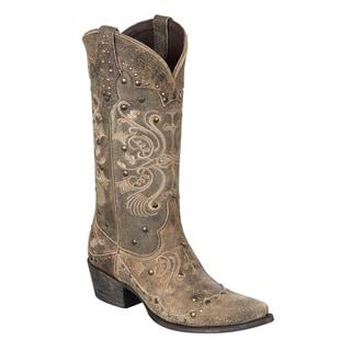 """Lane Boots """"Pans Garden"""" Women's Cowboy Boot"""