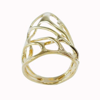 De Buman 18k Goldplated Ring