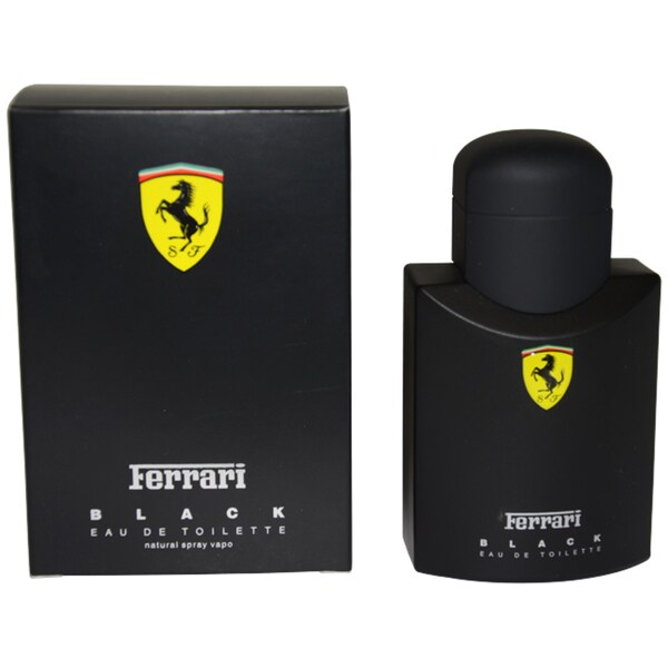 Ferrari Black Men's 1-ounce Eau de Toilette Spray