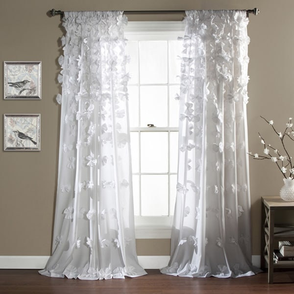 Lush Decor Riley Window Curtain Panel 16670459