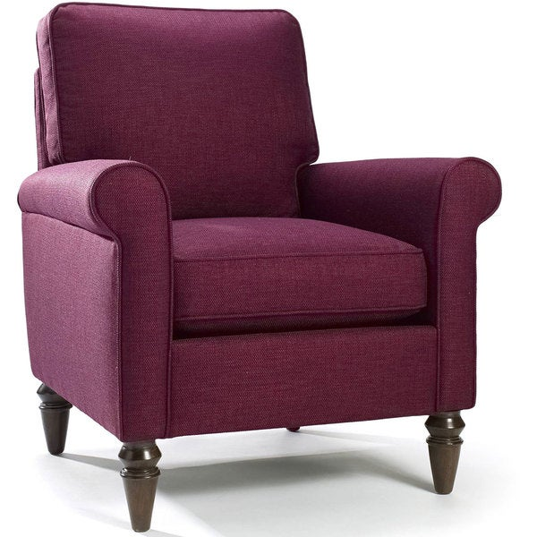 Hartley Raspberry Chair