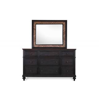 Magnussen Barnhardt Drawer Dresser with Mirror