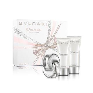 Bvlgari Omnia Crystalline Women's 3-piece Fragrance Set