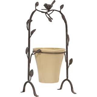 Birdie Perch Flower Pot