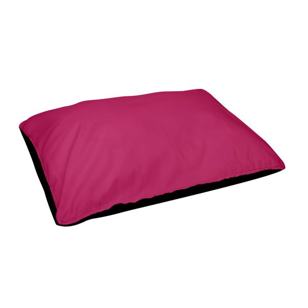 18 x 28 -inch Fushia Outdoor Solid Dog Bed