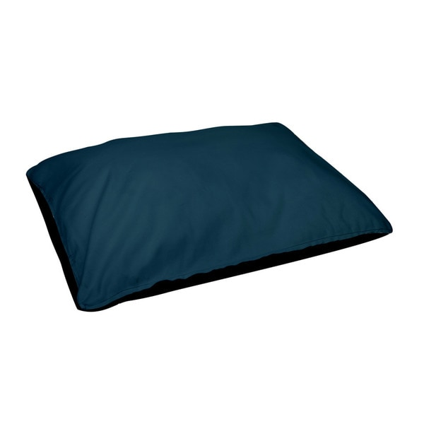 28 x 48 -inch Morrocan Blue Outdoor Solid Dog Bed